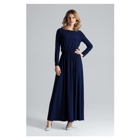 Figl Woman's Dress M604 Navy Blue