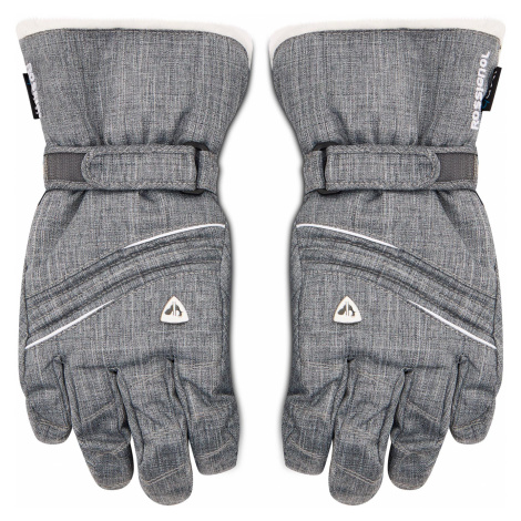 Szare damskie rękawiczki sportowe