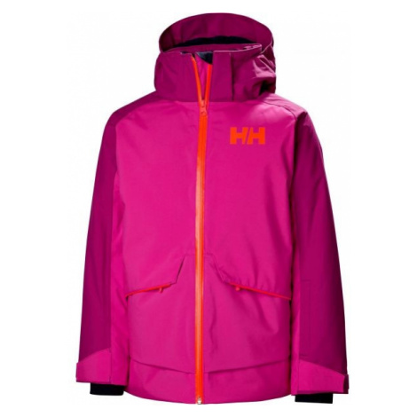 Helly Hansen JR STARLIGHT JACKET fioletowy 12 - Kurtka narciarska dziewczęca