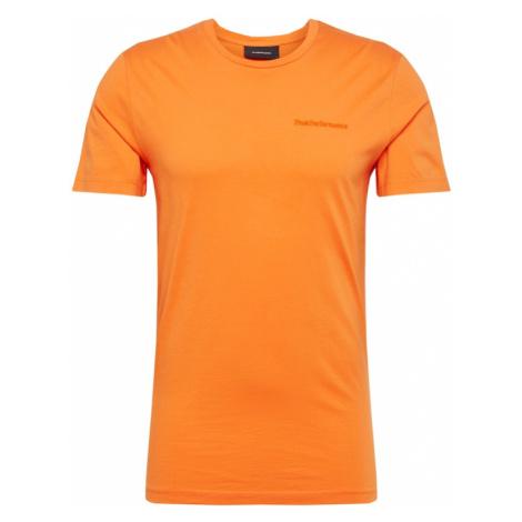 PEAK PERFORMANCE Koszulka 'URBAN' pomarańczowy
