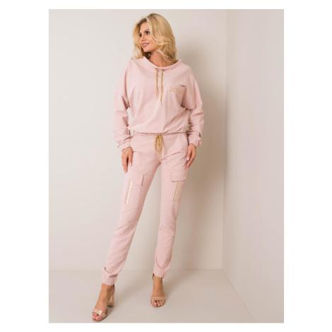 Dirty pink sweatshirt set