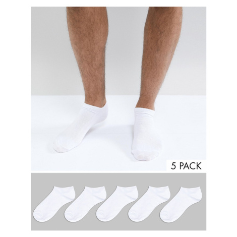 New Look trainer socks in white