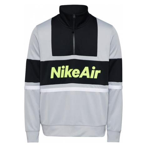 Nike Sportswear Bluzka sportowa 'Nike Air' czarny / szary