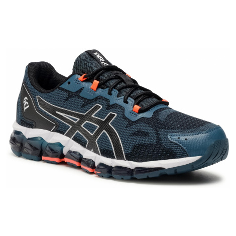 Sneakersy ASICS - Gel-Quantum 360 6 1021A337 Magnetic Blue/Black 400