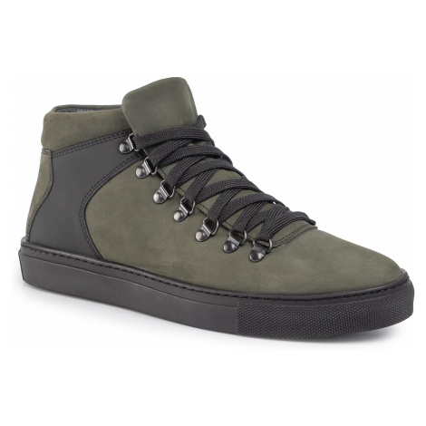 Sneakersy KRISBUT - 6534-1-7 Oliwka