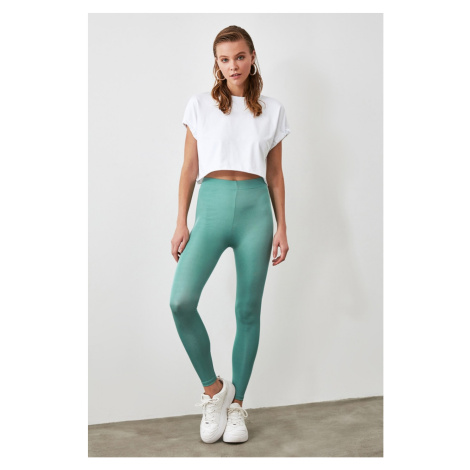 Trendyol Mint Bright Disco Knitted Tights