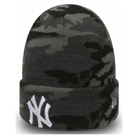 czapka New Era Essential Camo Cuff MLB New York Yankees - Moonlight Camo/White