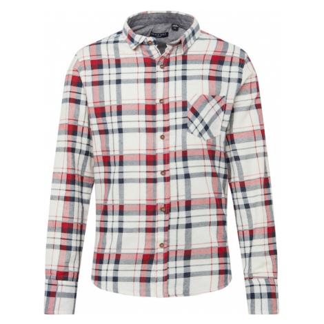 BRAVE SOUL Koszula '69Rooker' czerwony / ecru / granatowy