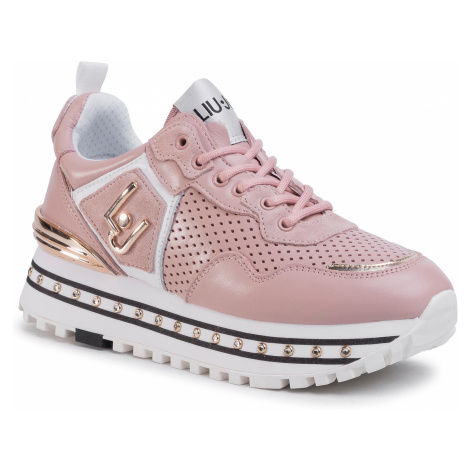 Sneakersy LIU JO - Maxi Alexa BXX051 P0102 Nude 51315