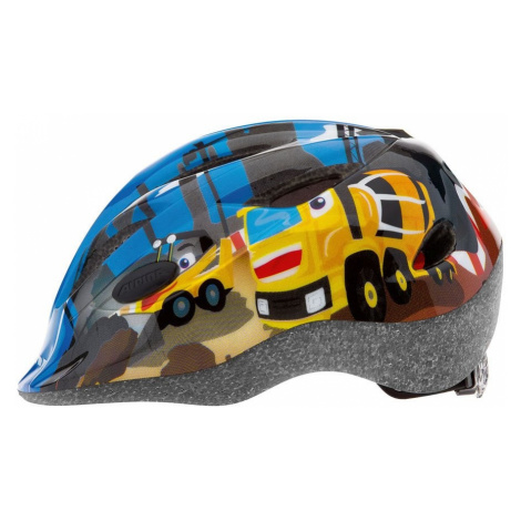 ALPINA Dziecięcy kask rowerowy GAMMA 2.0-Żółty-51-56