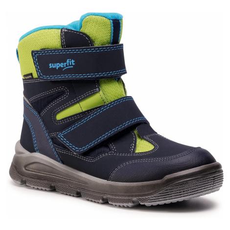Śniegowce SUPERFIT - GORE-TEX 1-009078-8100 S Blau/Grun