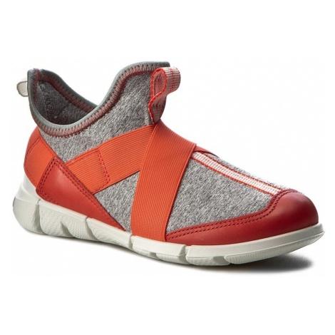 Sneakersy ECCO - Intrinsic Sneaker 70507250384 Coral Blush/Concrete/Black