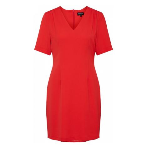 SELECTED FEMME Sukienka koktajlowa czerwony