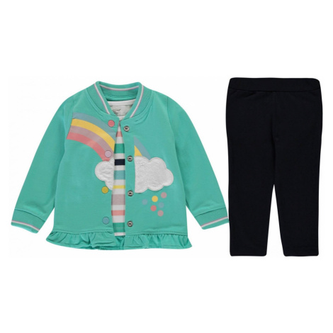 Crafted 3 Piece Fleece Set Baby Girls
