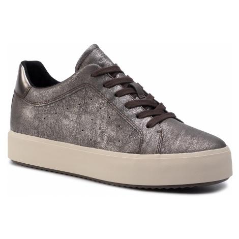 Sneakersy GEOX - D Blomiee H. B D94DZB 0PVBN C6635 Chestnut/Mud
