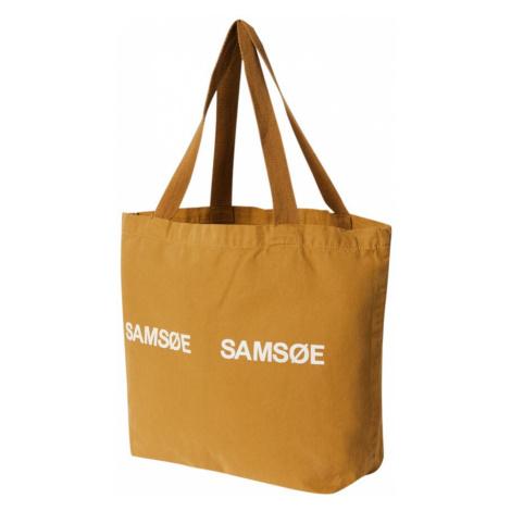 Samsoe Samsoe Torba shopper 'Frinka' brązowy