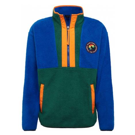 POLO RALPH LAUREN Bluzka sportowa niebieski / jodła / pomarańczowy