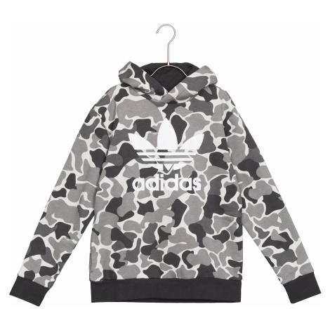 adidas Originals Trefoil Bluza dziecięca Czarny Szary