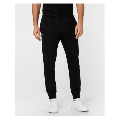 Lacoste Sport Cotton Fleece Spodnie dresowe Czarny