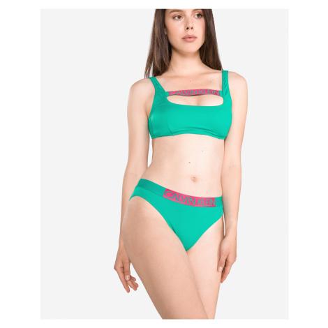 Calvin Klein Dolna część stroju kąpielowego Zielony