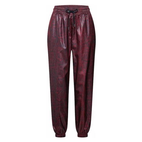 Nike Sportswear Spodnie 'W NSW PANT WVN PYTHN' czerwony