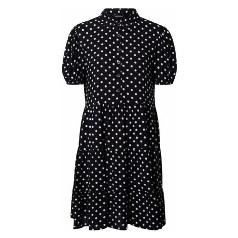 Trendyol Sukienka koszulowa biały / czarny