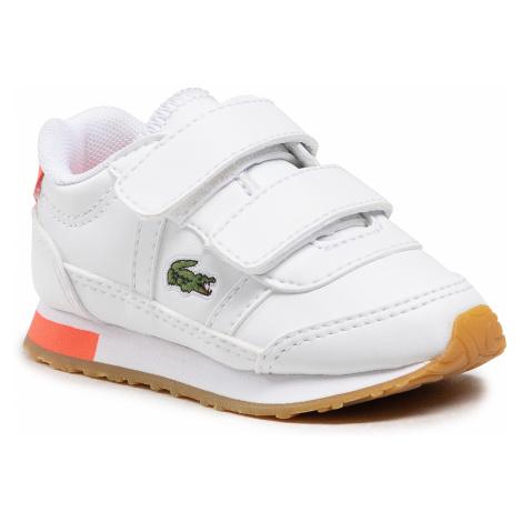 Sneakersy LACOSTE - Partner 0721 1 Sui 7-41SUI0012B53 Wht/Pnk