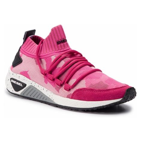 Sneakersy DIESEL - S-Kb Sl W Y01928 P2166 H7197 Pink Carnation/Carmi