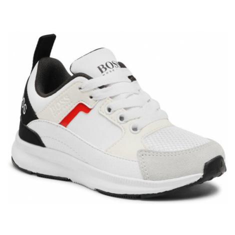 Boss Sneakersy J29243 Biały Hugo Boss
