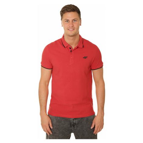 koszulka 4F H4L19-TSM024 Polo - 62S/Red