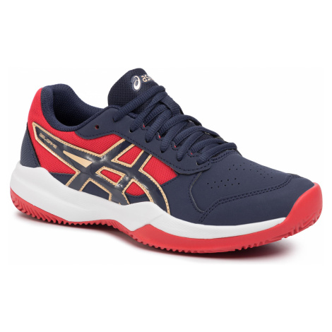 Buty ASICS - Gel-Game 7 Clay/Oc Gs 1044A010 Peacoat/Peacoat 400