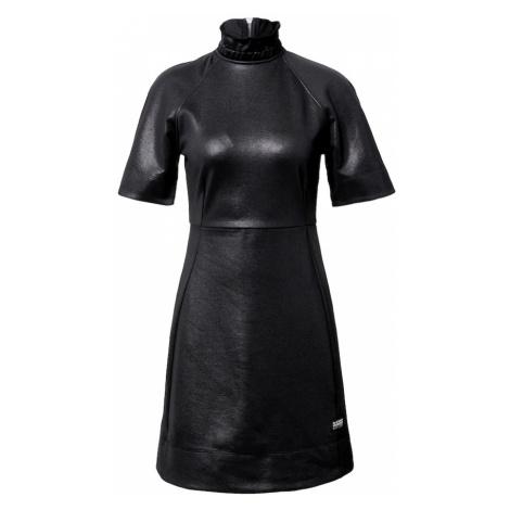 G-Star RAW Sukienka 'Glossy' czarny