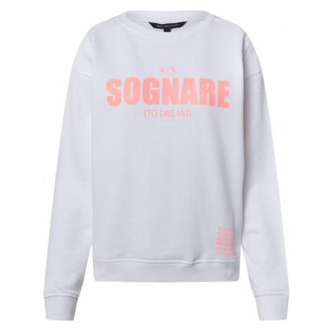 ARMANI EXCHANGE Bluzka sportowa '3HYM25' różowy / biały