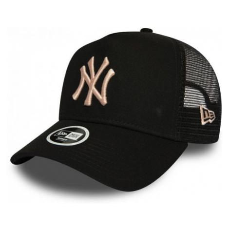 New Era 9FORTY W AF TRUCKER MLB THE LEAGUE ESSENTIAL NEW YORK YANKEES czarny  - Klubowa czapka t