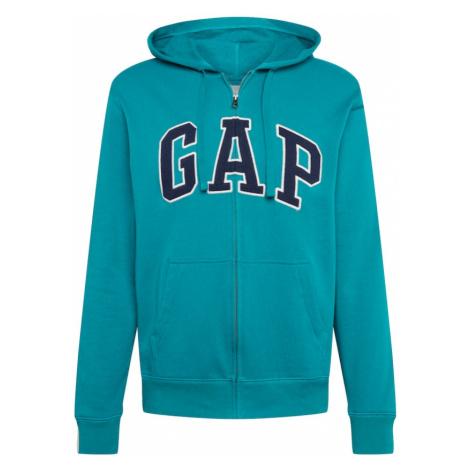 GAP Bluza rozpinana ciemny niebieski