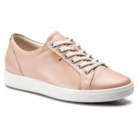 Półbuty ECCO - Soft 7 Ladies 43000302118 Rose Dust