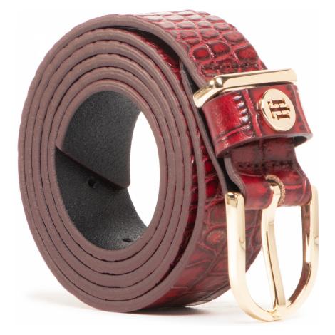 Pasek Damski TOMMY HILFIGER - Classic Belt 2.5 Croco AW0AW09043 XMP