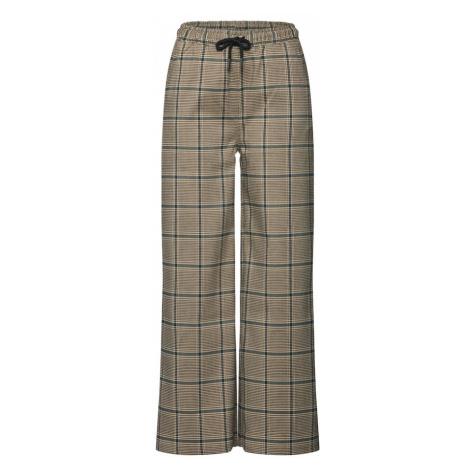 Minimum Spodnie 'Ashrita' beżowy / szary