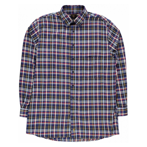 Fusion Multi Check Shirt Mens