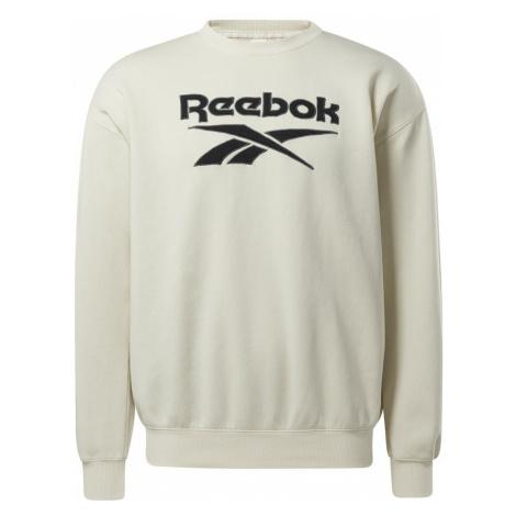 Reebok Classic Bluzka sportowa naturalna biel / czarny