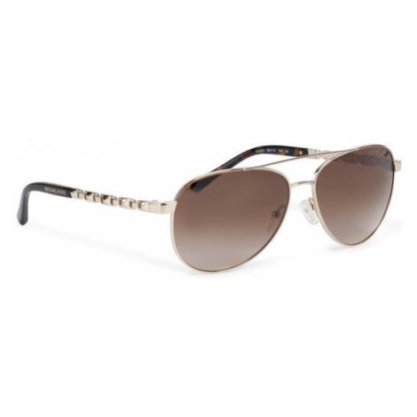 Michael Kors Okulary przeciwsłoneczne San Juan 0MK1047 101413 Złoty