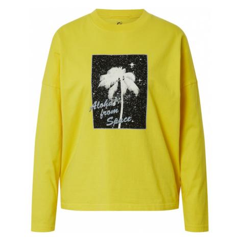 QUIKSILVER Koszulka 'BOXYTEELS' żółty