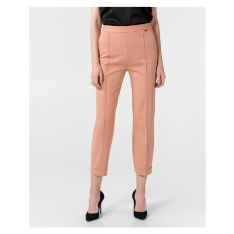 TWINSET Spodnie Różowy