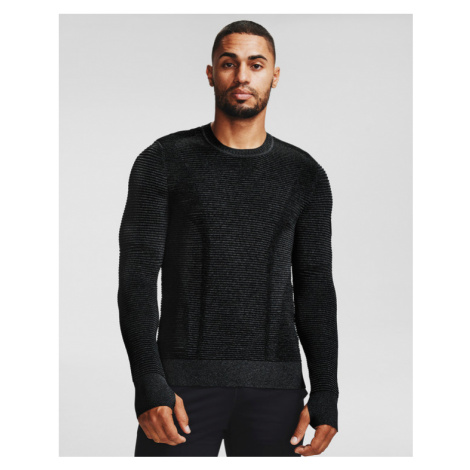 Under Armour IntelliKnit Phantom 2.0 Sweter Czarny