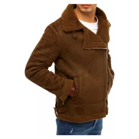Męska wielbłądowa kurtka zimowa Zmachu TX3634 DStreet