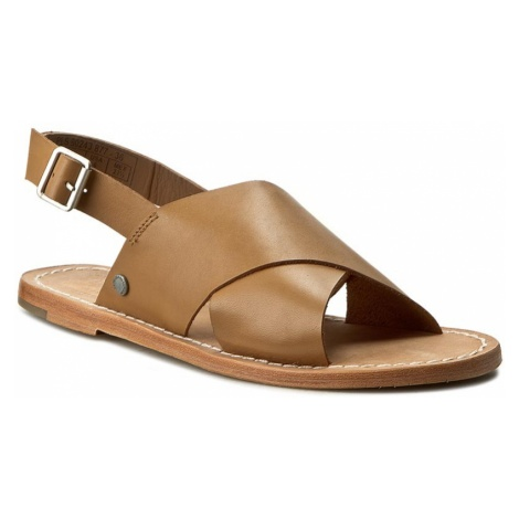 Sandały PEPE JEANS - Malibu Crossed PLS90243 Nut Brown 877