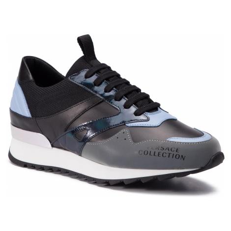 Sneakersy VERSACE COLLECTION - V900734 VM00436 VA39 Grigro/Celeste/Nero/Ne