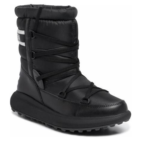 Śniegowce HELLY HANSEN - Isolabella Court 11492_990 Black/Off White