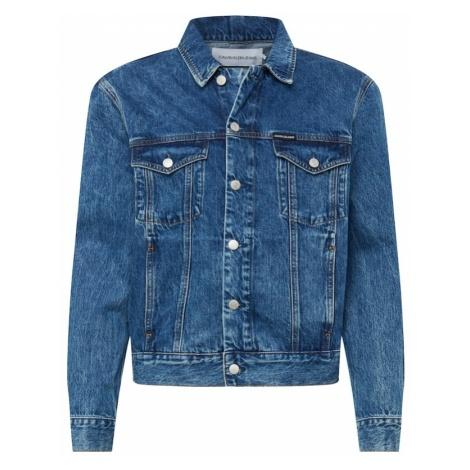Calvin Klein Jeans Kurtka przejściowa 'MODERN CLASSIC TRUCKER' niebieski denim