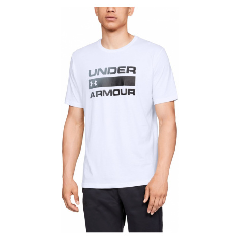 UA TEAM ISSUE WORDMARK SS-WHT Under Armour